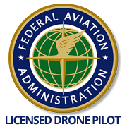 Certified and FAA Licensed Drone Pilot